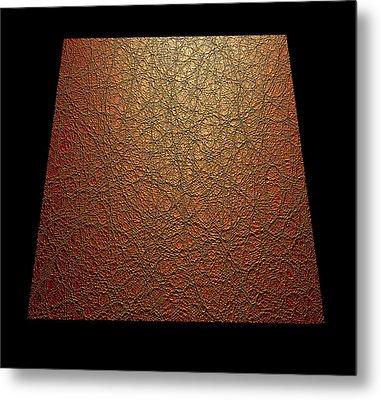 Quantum Waves Metal Print by Eric Heller