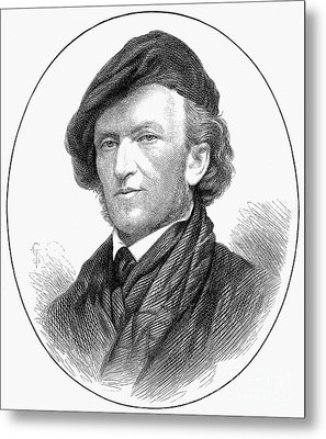 Richard Wagner (1813-1883) Metal Print by Granger