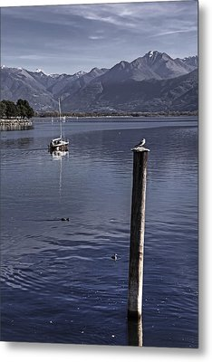 Sailing Boat Metal Print by Joana Kruse