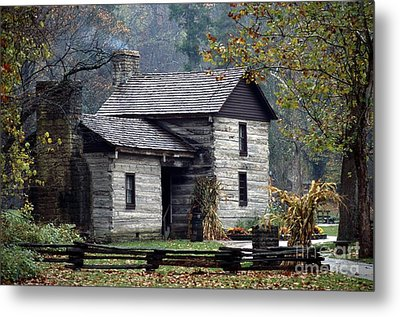 Spring Mill State Park - Indiana Metal Print by Jack R Brock