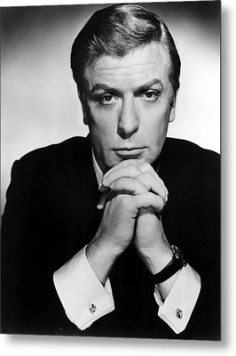 The Ipcress File, Michael Caine, 1965 Metal Print by Everett