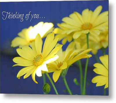 Thinking Of You... Metal Print by Cathie Tyler