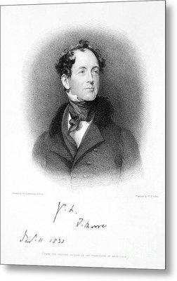 Thomas Moore (1779-1852) Metal Print by Granger