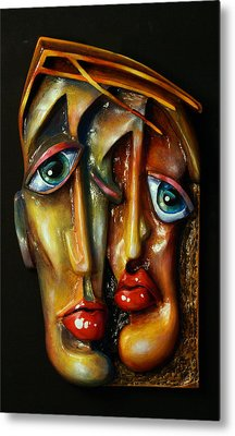 'together' Metal Print by Michael Lang