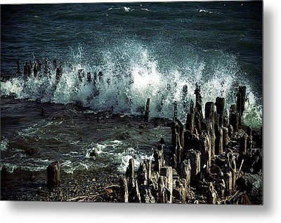 Waves Metal Print by Joana Kruse