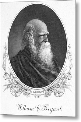 William Cullen Bryant Metal Print by Granger