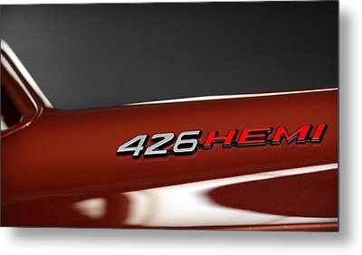 426 Hemi Metal Print by Gordon Dean II