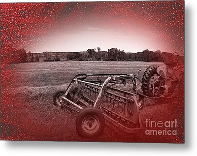 47 Bales Metal Print by The Stone Age