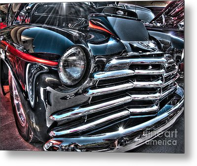 48 Chevy Convertible 2 Metal Print by Anthony Wilkening