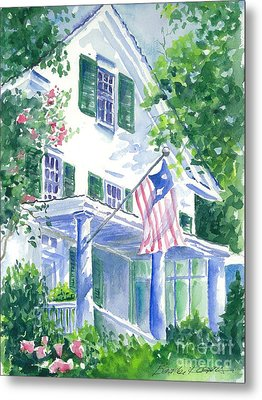 4th Of July In Georgia Metal Print by Bambi Rogers