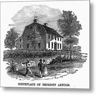 Benedict Arnold (1741-1801) Metal Print by Granger