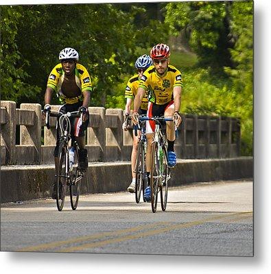 Bicycle Ride Across Georgia Metal Print by Susan Leggett