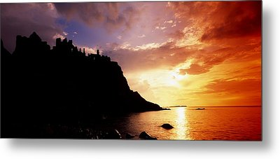 Dunluce Castle, Co Antrim, Ireland Metal Print by The Irish Image Collection