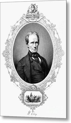 Henry Clay (1777-1852) Metal Print by Granger
