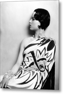 Louise Brooks, Ca. Late 1920s Metal Print