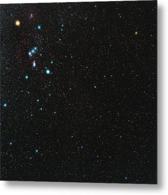 Orion Constellation Metal Print by Eckhard Slawik