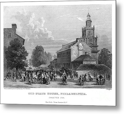 Philadelphia State House Metal Print by Granger