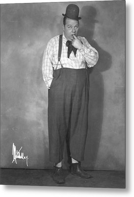 Roscoe Fatty Arbuckle Metal Print by Granger