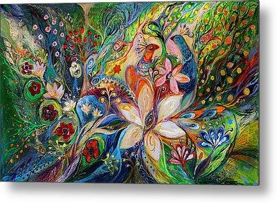 The Magic Garden Metal Print by Elena Kotliarker