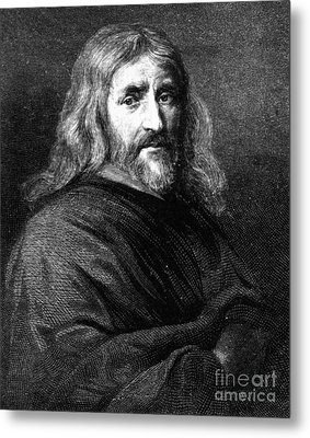 William Harvey, English Physician Metal Print by Science Source