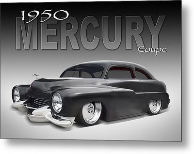 50 Mercury Coupe Metal Print by Mike McGlothlen