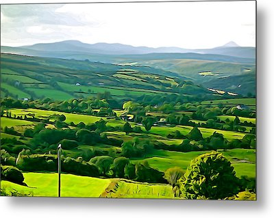 Metal Print featuring the photograph 50 Shades Of Green by Charlie and Norma Brock