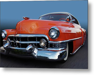 Metal Print featuring the photograph 54 Cadillac De Ville by Bill Dutting