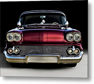 '58 Impala Custom Metal Print by Douglas Pittman