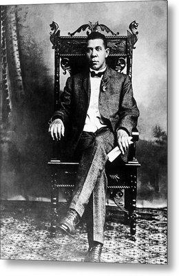 Booker T. Washington 1856-1915 Metal Print