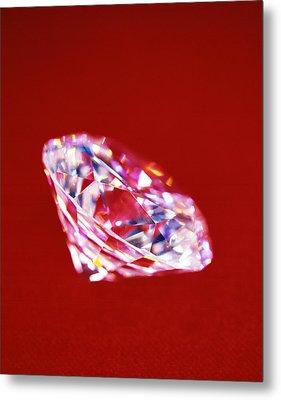 Diamond Metal Print by Lawrence Lawry