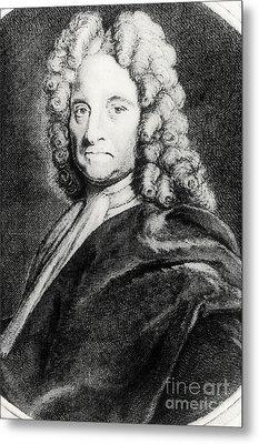Edmond Halley, English Polymath Metal Print by Science Source
