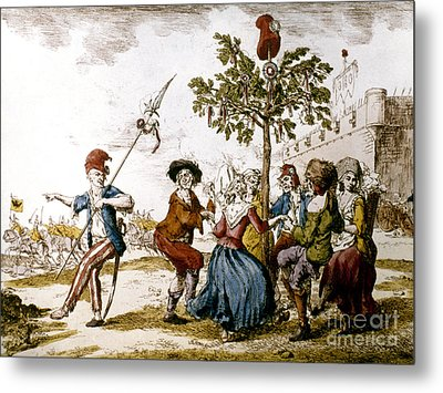 French Revolution, 1792 Metal Print by Granger