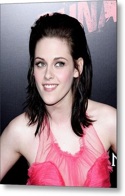 Kristen Stewart At Arrivals For The Metal Print by Everett