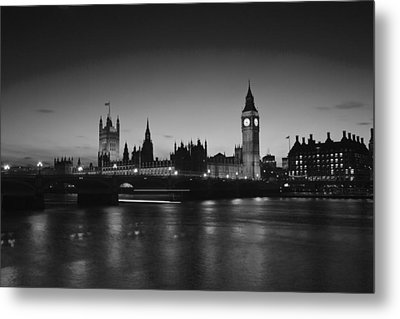 London  Skyline Big Ben Metal Print