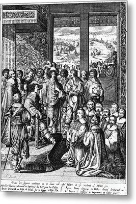 Louis Xiii (1601-1643) Metal Print by Granger