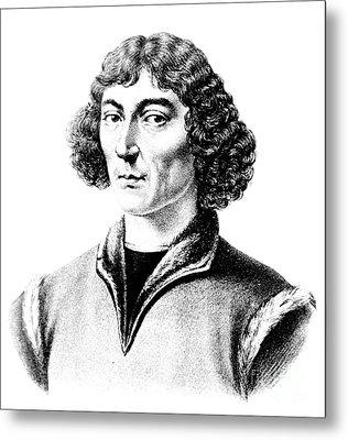 Nicolaus Copernicus, Polish Astronomer Metal Print by Science Source