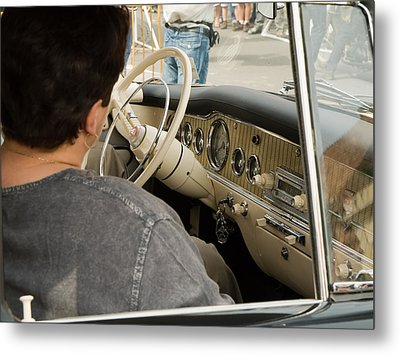 Old Car Metal Print by Odon Czintos