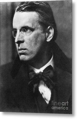 William Butler Yeats Metal Print