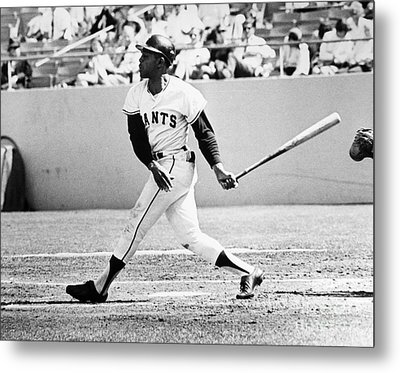 Willie Mays (1931- ) Metal Print by Granger