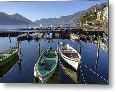Ascona - Lake Maggiore Metal Print by Joana Kruse