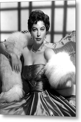 Ava Gardner Metal Print by Everett