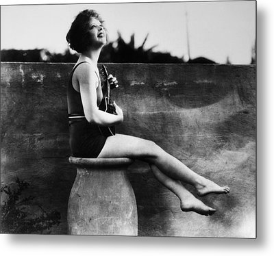 Clara Bow (1905-1965) Metal Print by Granger