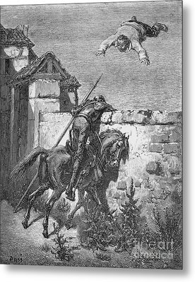 Don Quixote Metal Print by Granger