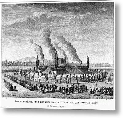 French Revolution, 1790 Metal Print by Granger