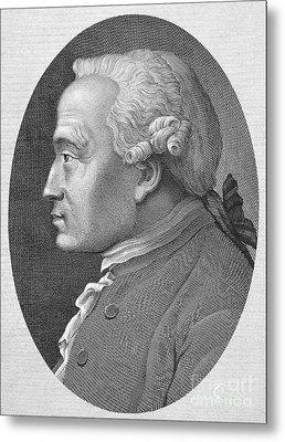 Immanuel Kant (1724-1804) Metal Print