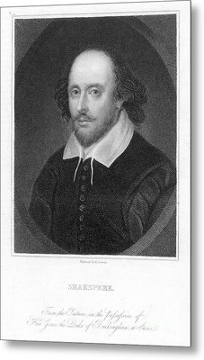 William Shakespeare Metal Print by Granger