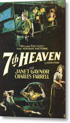7th Heaven Metal Print by Georgia Fowler