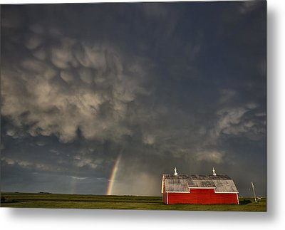 Abandoned Farm Metal Print by Mark Duffy