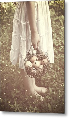 Eggs Metal Print by Joana Kruse