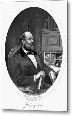 James A. Garfield (1831-1881) Metal Print by Granger